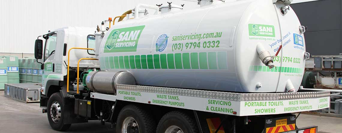 VIC – Toilet & Waste Tank Service Areas
